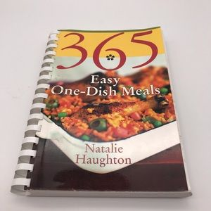 365 Easy One Dish Meals Cookbook Natalie Haughton